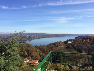 Vista dal terrazzo Affitto Casa 100694 Arona
