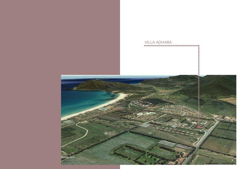 Mappa Affitto Villa  107699 Villasimius