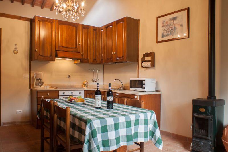 Sala da pranzo Affitto Agriturismo 109624 Siena