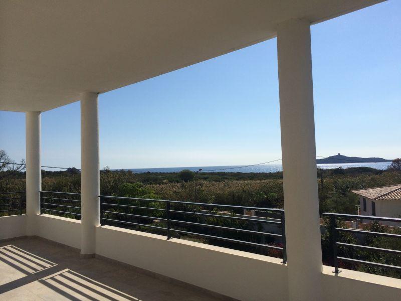 Vista dal terrazzo Affitto Villa  112600 Sainte Lucie de Porto Vecchio