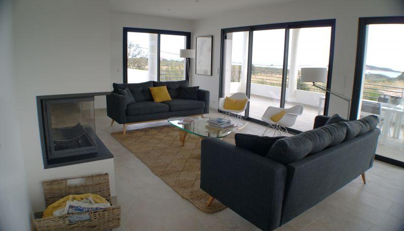 Soggiorno 1 Affitto Villa  112600 Sainte Lucie de Porto Vecchio