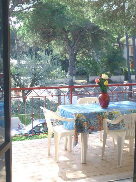 Vista dal balcone Affitto Appartamento 113139 Principina a Mare