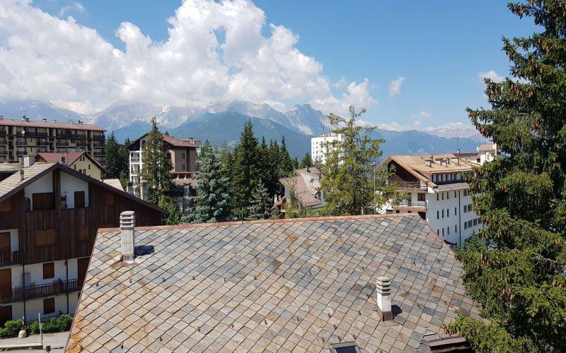 Vista dal terrazzo Affitto Appartamento 116279 Sauze d'Oulx
