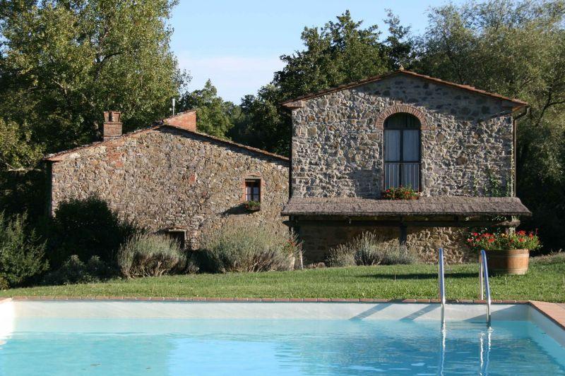 Vista esterna della casa vacanze Affitto Casa 117228 Arezzo