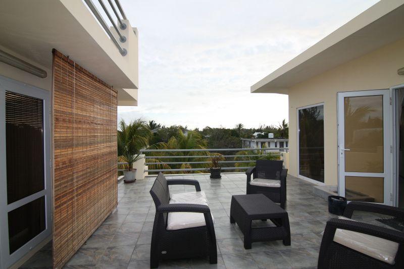 Vista dal terrazzo Affitto Villa  118451 Péreybère