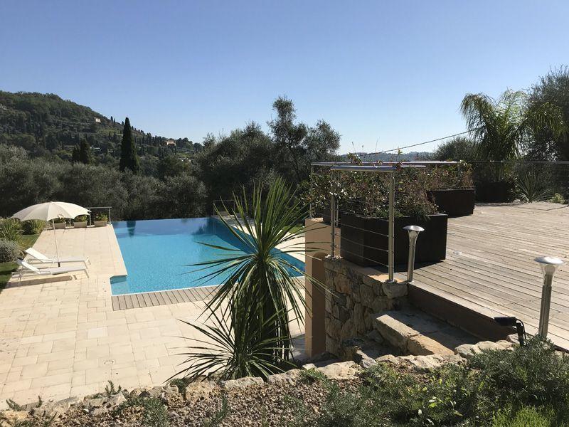 Vista dal terrazzo Affitto Casa 118651 Grasse