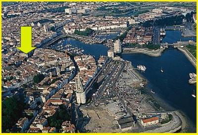 Pianta casa vacanze Affitto Appartamento 84130 La Rochelle