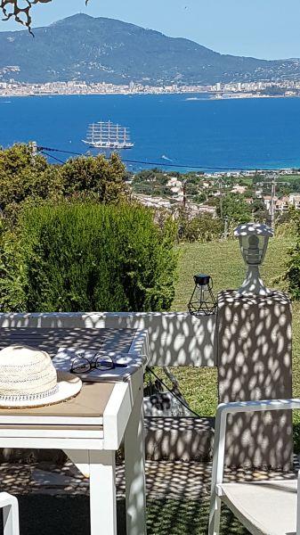 Vista dal terrazzo Affitto Casa 89896 Porticcio
