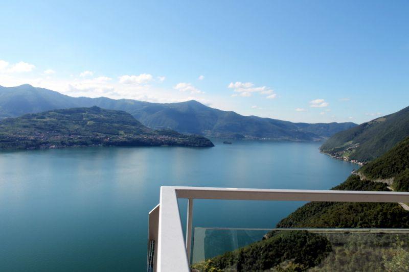 Vista dal terrazzo Affitto Appartamento 90943 Parzanica