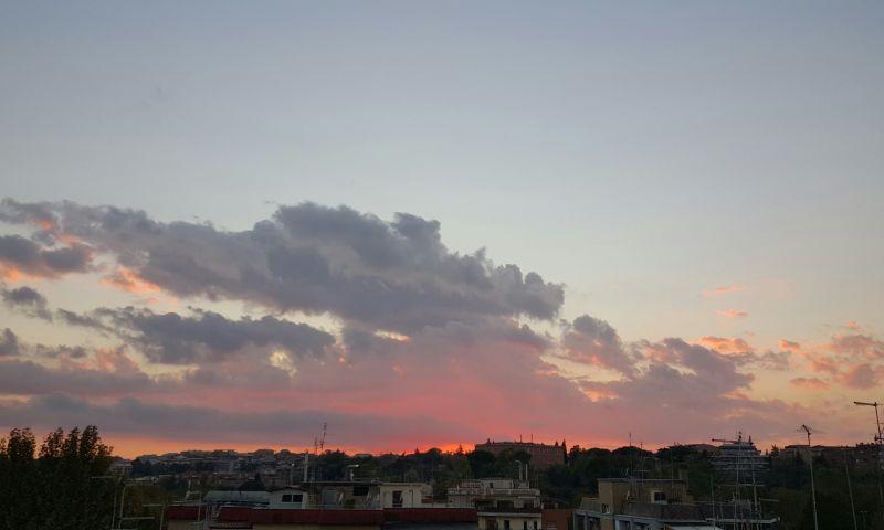 Vista dal terrazzo Affitto Appartamento 91428 Roma