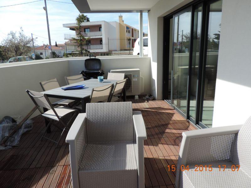 Vista dal terrazzo Affitto Appartamento 92625 Sanary