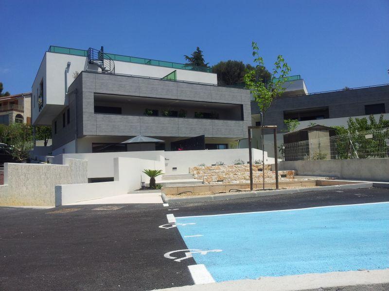Vista esterna della casa vacanze Affitto Appartamento 92625 Sanary