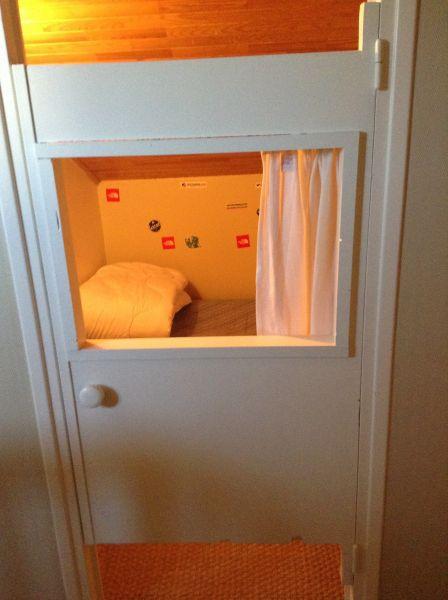 Zona notte cabina Affitto Appartamento 101179 Les 2 Alpes