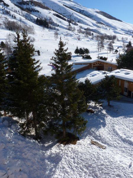 Vista dal balcone Affitto Appartamento 101179 Les 2 Alpes