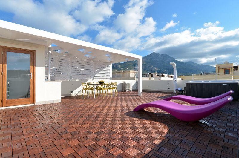 Vista dal terrazzo Affitto Appartamento 101904 San Vito lo Capo