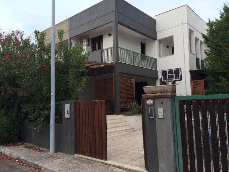 Vista esterna della casa vacanze Affitto Villa  104331 Gallipoli