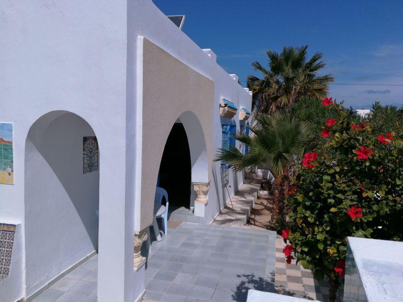 Vista dal terrazzo Affitto Villa  112810 Djerba