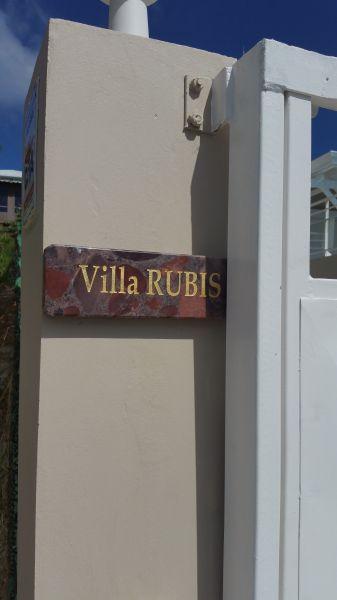 Vista esterna della casa vacanze Affitto Villa  112831 Saint Francois