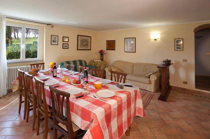 Sala da pranzo Affitto Villa  116579 Anghiari