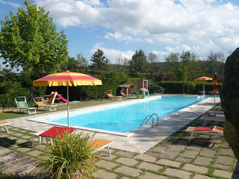 Vista dal terrazzo Affitto Villa  116579 Anghiari