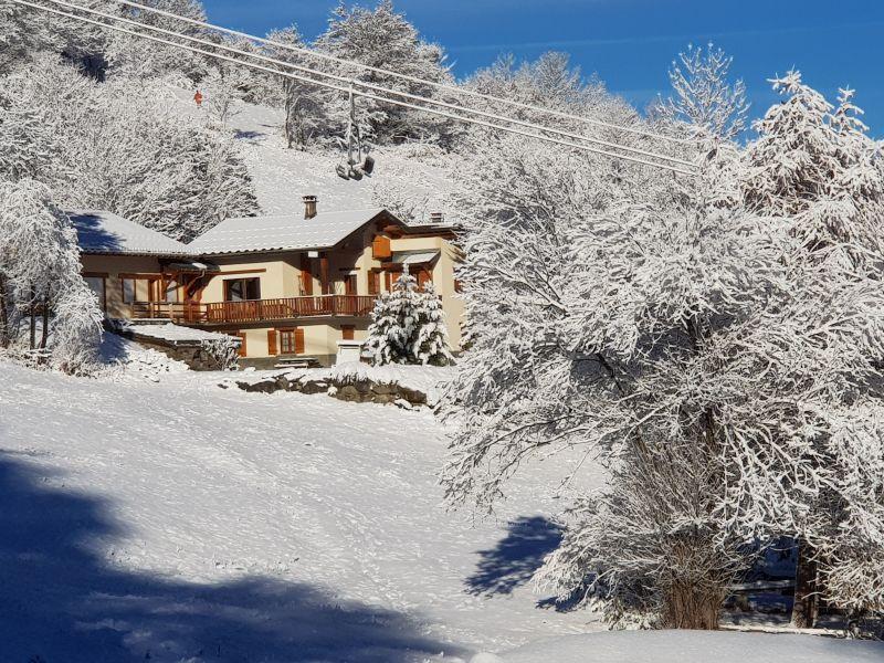 Vista esterna della casa vacanze Affitto Agriturismo 117285 Valmeinier