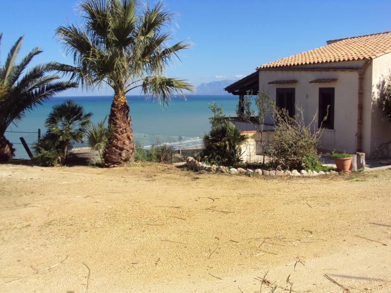 Vista esterna della casa vacanze Affitto Casa 67481 Castellammare del Golfo