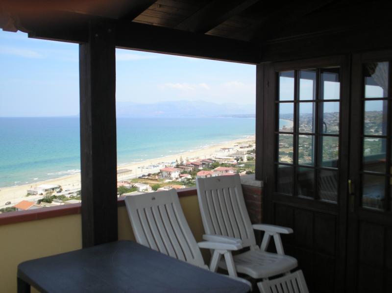 Vista dal balcone Affitto Casa 67481 Castellammare del Golfo