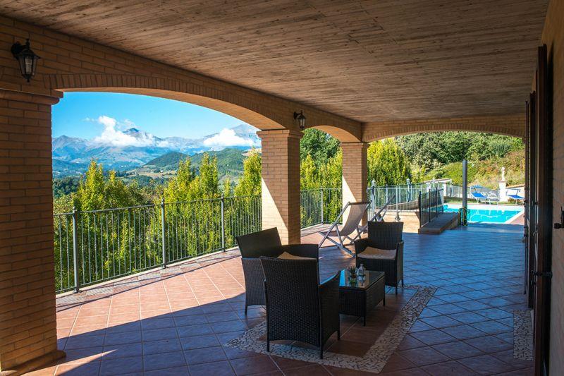 Vista dal terrazzo Affitto Villa  70350 Fermo