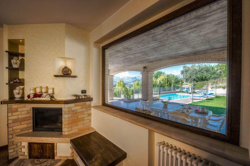 Vista dalla casa vacanze Affitto Villa  70350 Fermo