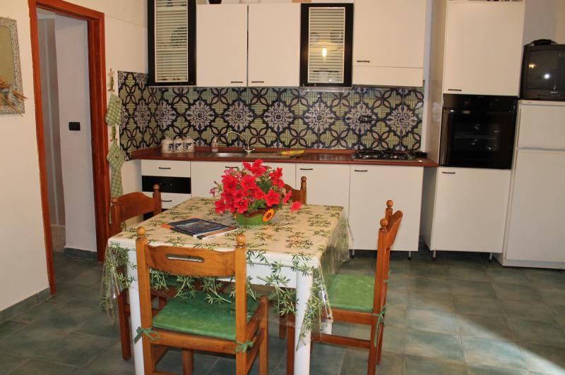 Cucina all'americana Affitto Appartamento 77385 Castellammare del Golfo