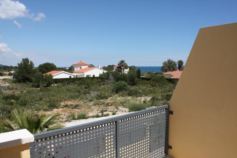Vista dal balcone Affitto Chalet 77819 La Ametlla de Mar