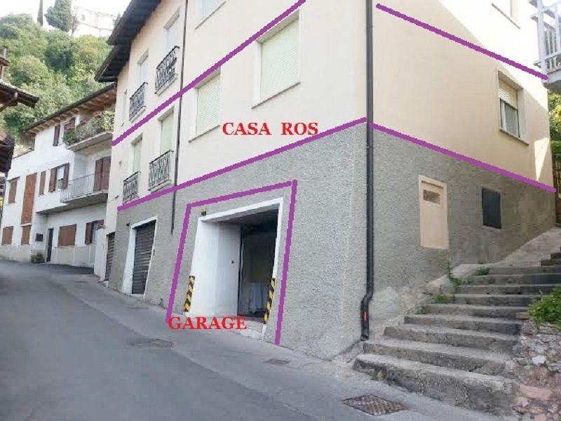 Vista esterna della casa vacanze Affitto Appartamento 78009 Toscolano-Maderno