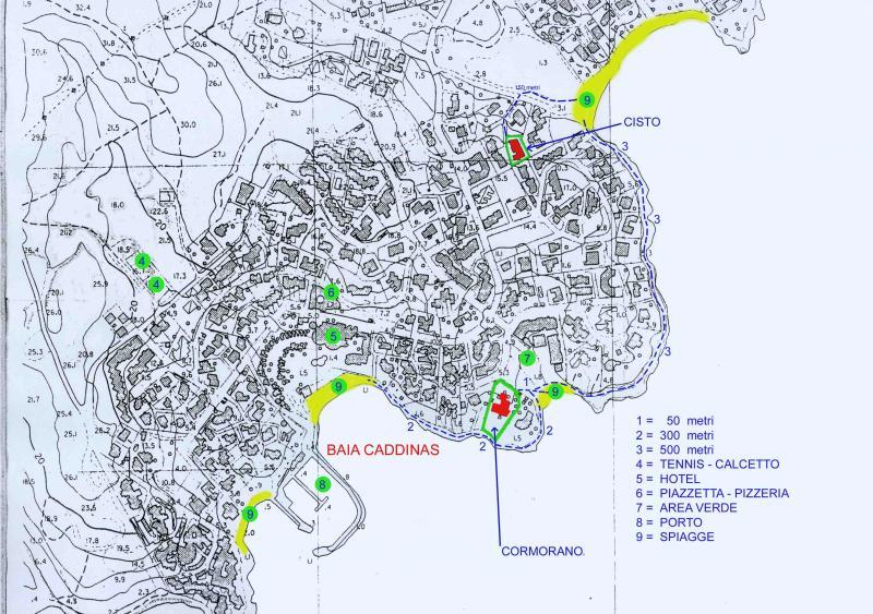 Mappa Affitto Appartamento 83851 Golfo Aranci