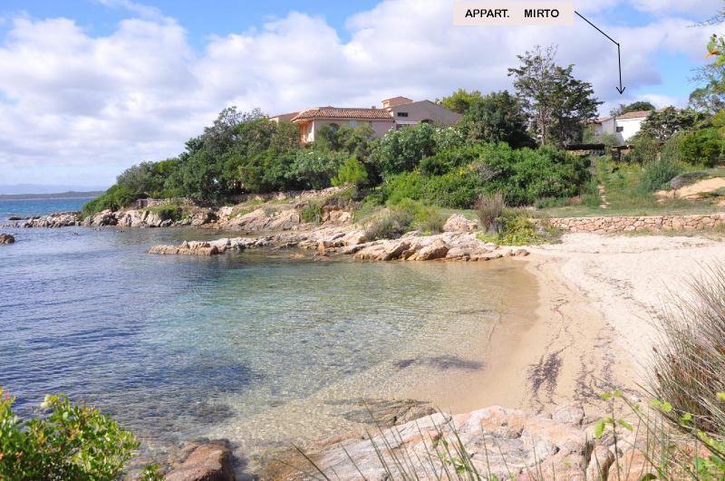 Vista esterna della casa vacanze Affitto Appartamento 83851 Golfo Aranci