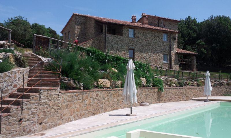 Vista esterna della casa vacanze Affitto Agriturismo 84892 Siena