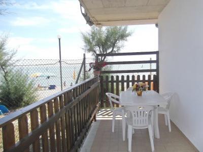 Vista dal terrazzo Affitto Bungalow 85039 Porto San Giorgio