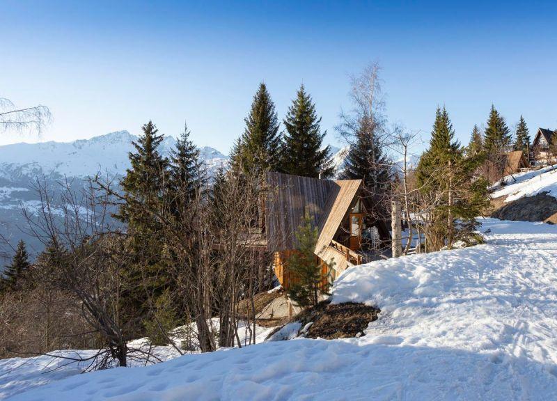 Vista esterna della casa vacanze Affitto Chalet 89274 Les Arcs