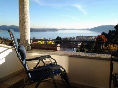 Vista dal balcone Affitto Appartamento 91965 Verbania