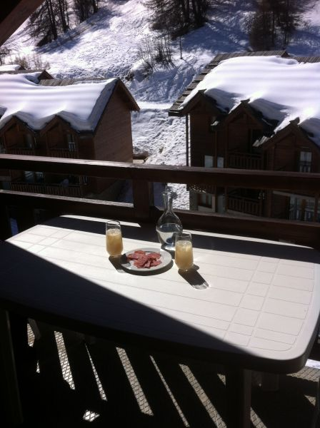Vista dal balcone Affitto Appartamento 92347 Puy Saint Vincent