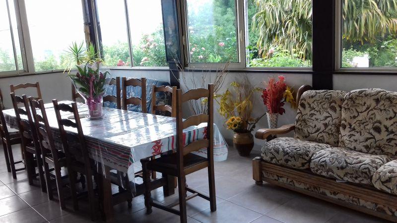 Vista dal terrazzo Affitto Villa  93578 Grand Baie
