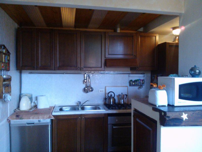 Cucina all'americana Affitto Appartamento 94010 Lierna