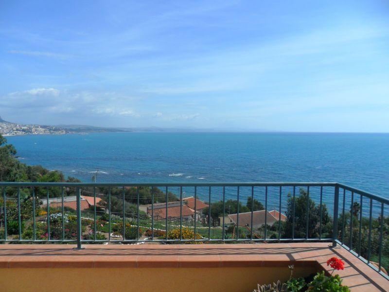 Vista dal terrazzo Affitto Appartamento 103741 Sciacca