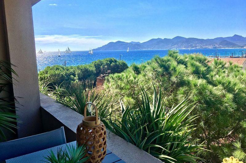 Vista dalla casa vacanze Affitto Appartamento 107299 Cannes