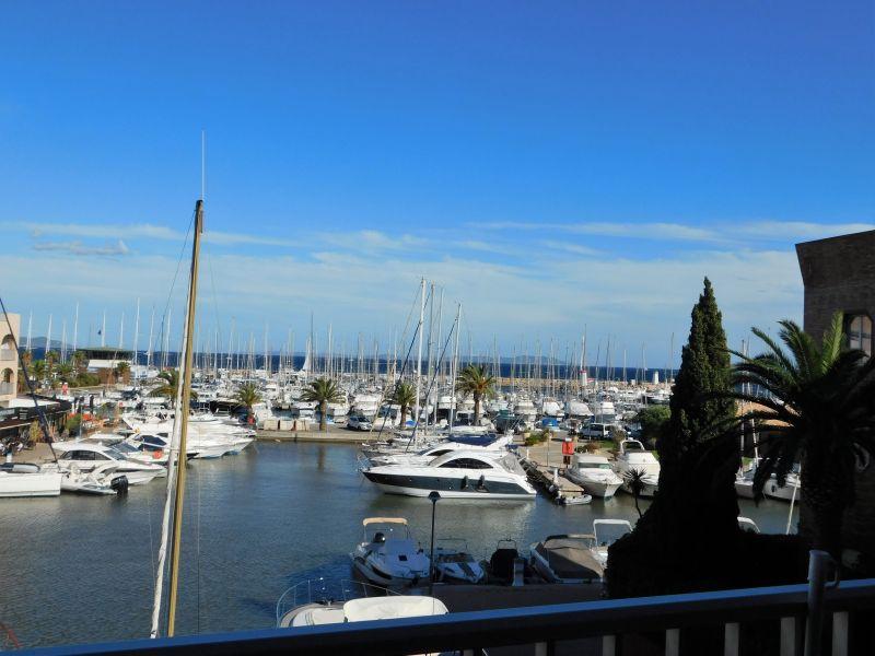 Vista dal terrazzo Affitto Monolocale 107873 Hyères