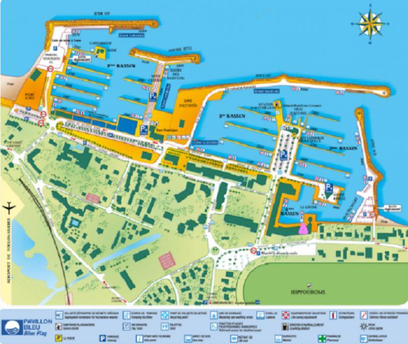 Mappa Affitto Monolocale 107873 Hyères