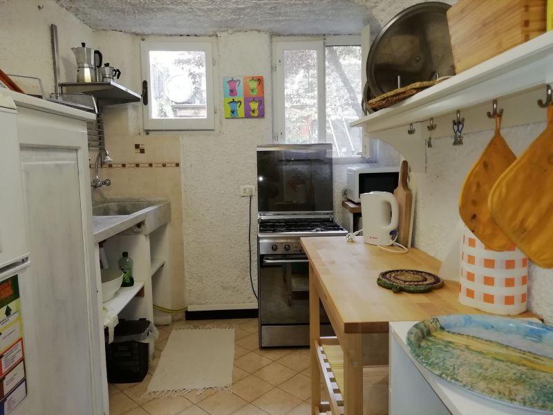 Cucina separata Affitto Appartamento 108814 Levanto