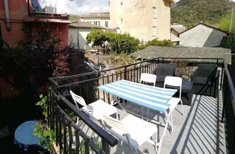 Vista dal terrazzo Affitto Appartamento 108814 Levanto