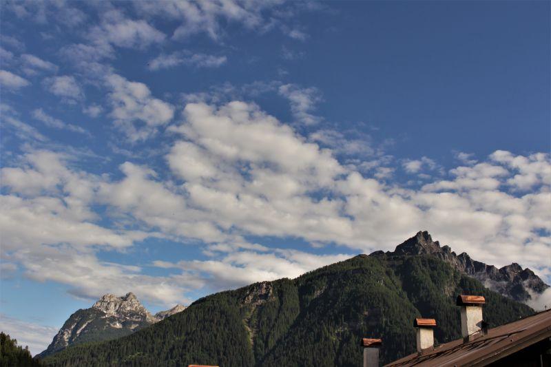 Vista dal terrazzo Affitto Appartamento 110944 Falcade