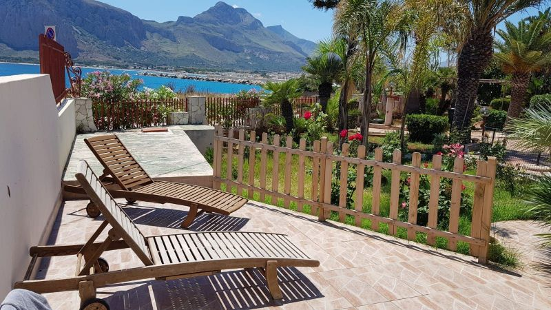 Vista dal terrazzo Affitto Villa  112450 San Vito lo Capo