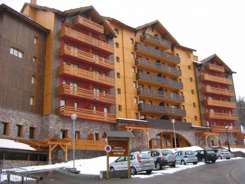 Vista esterna della casa vacanze Affitto Appartamento 117520 Risoul 1850